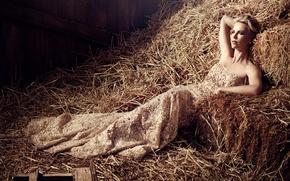 Обои Шарлиз Терон, A Million Ways to Die in the West, девушка, актриса, модель, Фотосессия, Charlize ...