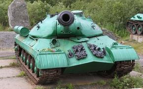 Обои Объект 703, Щука, Тяжёлый танк, ИС-3, Иосиф Сталин