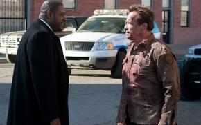 Обои Arnold Schwarzenegger, Agent John Bannister, Форест Уитакер, Forest Whitaker, Арнольд Шварценеггер, Возвращение героя, The Last ...