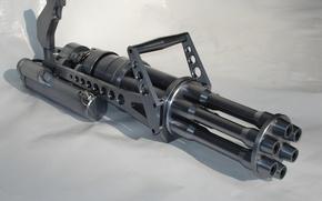 Картинка металл, оружие, пулемет, 6 створ