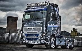 Обои грузовик, вольво, 6×4, Volvo, FH16