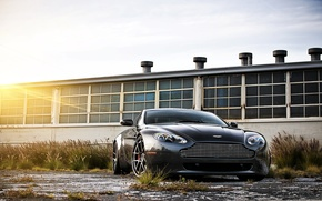 Картинка black, aston martin, vantage, cars, auto, cars walls, обои авто