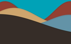 Картинка линии, абстракция, текстура, коричневый, color