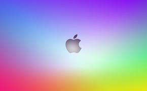 Обои Apple, яблоко, mac, os x