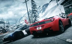 Картинка spider, Ferrari, Need for Speed, nfs, police, 2013, pursuit, 458 Italia, Rivals, NFSR, нфс