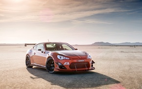 Картинка сцион, fr-s, tuning, Toyota, фр-с, front, orange, оранжевый, тюнинг, Scion