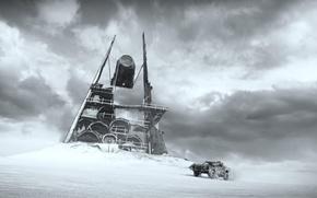 Картинка пустыня, Mad Max, Fury Road, Безумный Макс, Дорога ярости