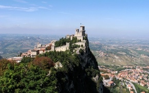 Картинка city, castle, town