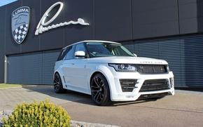 Обои CLR R, Lumma Design, рендж ровер, 2014, Range Rover, L405
