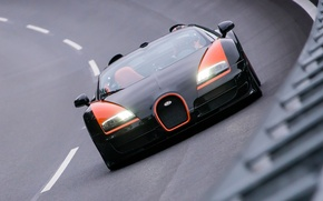 Обои bugatti, 16.4, veyron, grand sport, vitesse, world record car edition