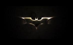 Картинка batman, черный, логотип, бэтмен