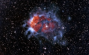 Картинка Скорпион, созвездие, эмиссионная туманность, RCW120