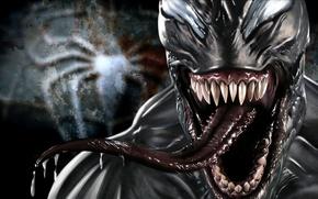 Картинка Marvel Comics, Venom, Eddie Brock, Symbiote