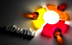 Картинка компьютер, фон, Linux, Ubuntu, операционная система