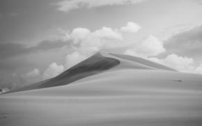 Картинка desert, sand, wind, dune, sunny, dry