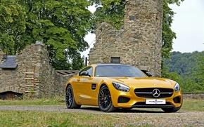 Картинка Mercedes-Benz, мерседес, AMG, амг, 2015, GT S, Posaidon, C190
