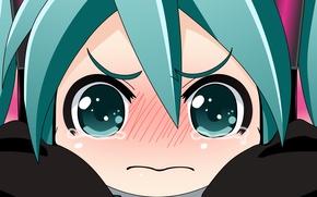 Картинка девушка, vector, вектор, аниме, арт, vocaloid, hatsune miku