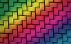 Картинка радуга, colors, colorful, rainbow, плетенка, texture, background, weave, twist