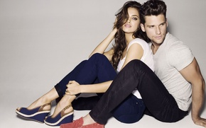 Картинка девушка, стиль, реклама, модели, мода, Ирина, обуви, Артур