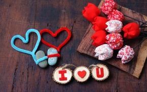 Картинка любовь, сердечки, valentine's day
