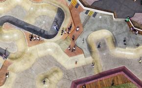 Картинка развлечения, Австралия, Мельбурн, скейт парк, досуг