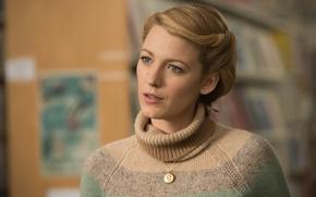 Обои портрет, актриса, Blake Lively, блондинка