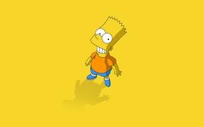 Картинка мультфильм, симпсоны, simpsons, барт, bart