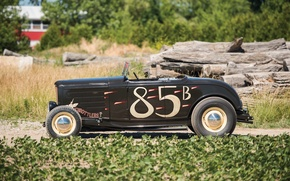 Картинка Roadster, Ford, Hot Rod, 1932, Хот-род, Hi-Boy