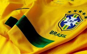 Картинка logo, football, Brasil, t-shirt