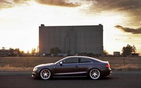 Картинка Audi, ауди, купе, профиль, спорткар