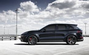 Картинка 2015, черный, TopCar, Blck, порше, кайен, Porsche, Cayenne