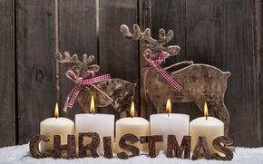 Картинка праздник, новый год, рождество, свечи, christmas, new year, happy new year, merry christmas, candles