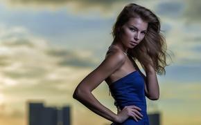 Картинка взгляд, девушка, портрет, Viktoriia