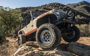 Обои CJ-8, внедорожник, джип, Scrambler, Jeep