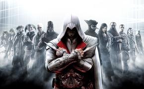 Обои Assassin's Creed Brotherhood, Ассасин, Эцио
