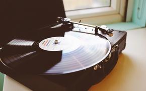 Картинка музыка, винил, phonograph