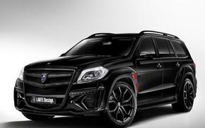 Картинка Черный, Mercedes, Tuning