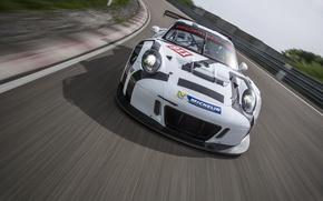 Картинка 911, Porsche, порше, 991, GT3 R, 2016