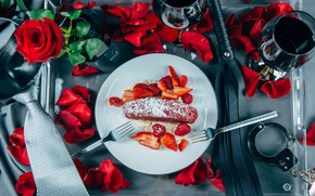 Картинка розы, клубничка, style, наручники, Fifty Shades of Grey, menu