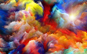 Обои background, color explosion, sky, abstact, colors