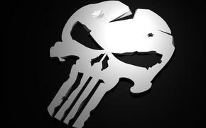 Картинка skull, Marvel, comics, The Punisher