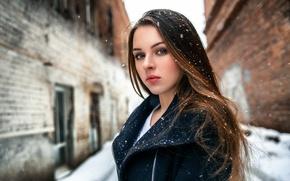 Картинка снег, губки, прелесть, Валерия, Kirill Averyanov