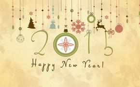Картинка украшения, праздник, рисунок, новый год, 2015