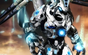 Обои трансформер, робот, beoarch angel from heaven