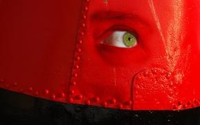 Картинка глаз, фон, цвет