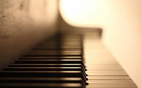 Картинка макро, музыка, пианино