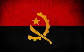 Картинка Флаг, Photoshop, Angola, Ангола