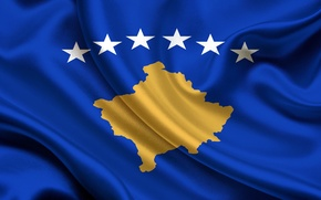 Обои Флаг, Республики, Косово