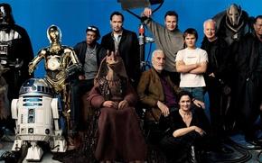 Обои Звёздные Войны, актёры, Star Wars