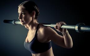 Картинка fitness, gym, training, sportswear, weight lifting